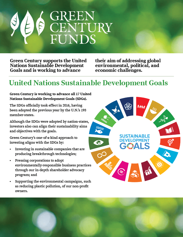 GC - SDG 2 Pager Oct 2018