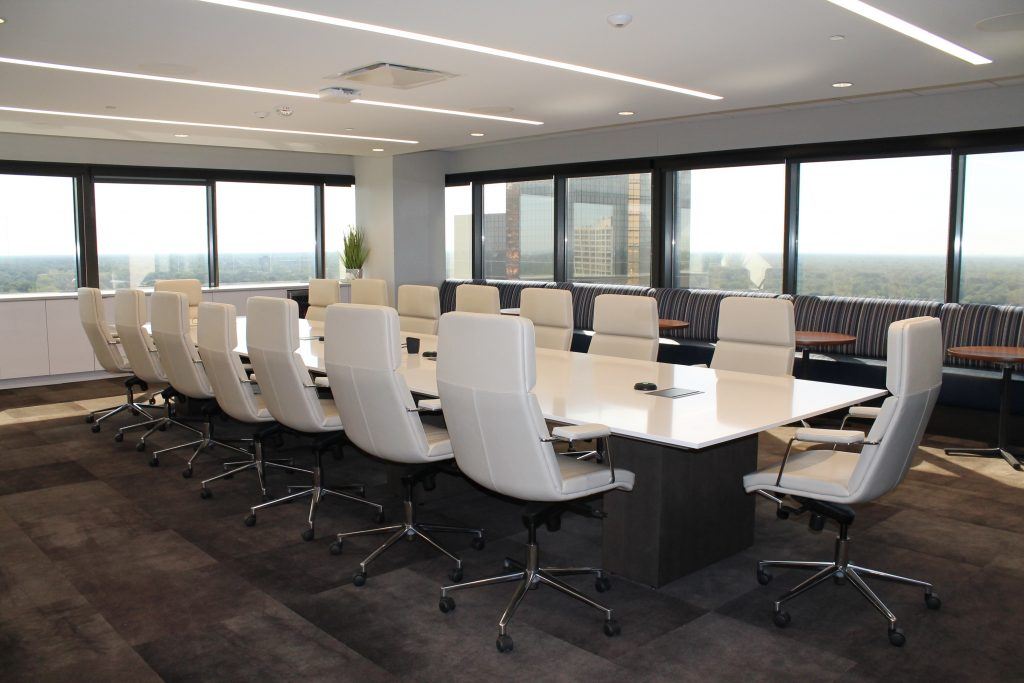 Boardroom empty of environmental credentials